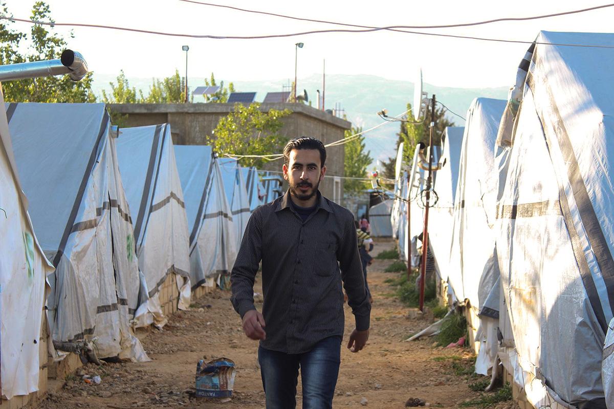 Abdulrahman im Libanon 2014. Foto: privat
