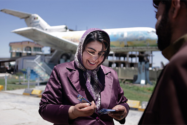 Seena Rahmani. Foto: Lela Ahmadzai