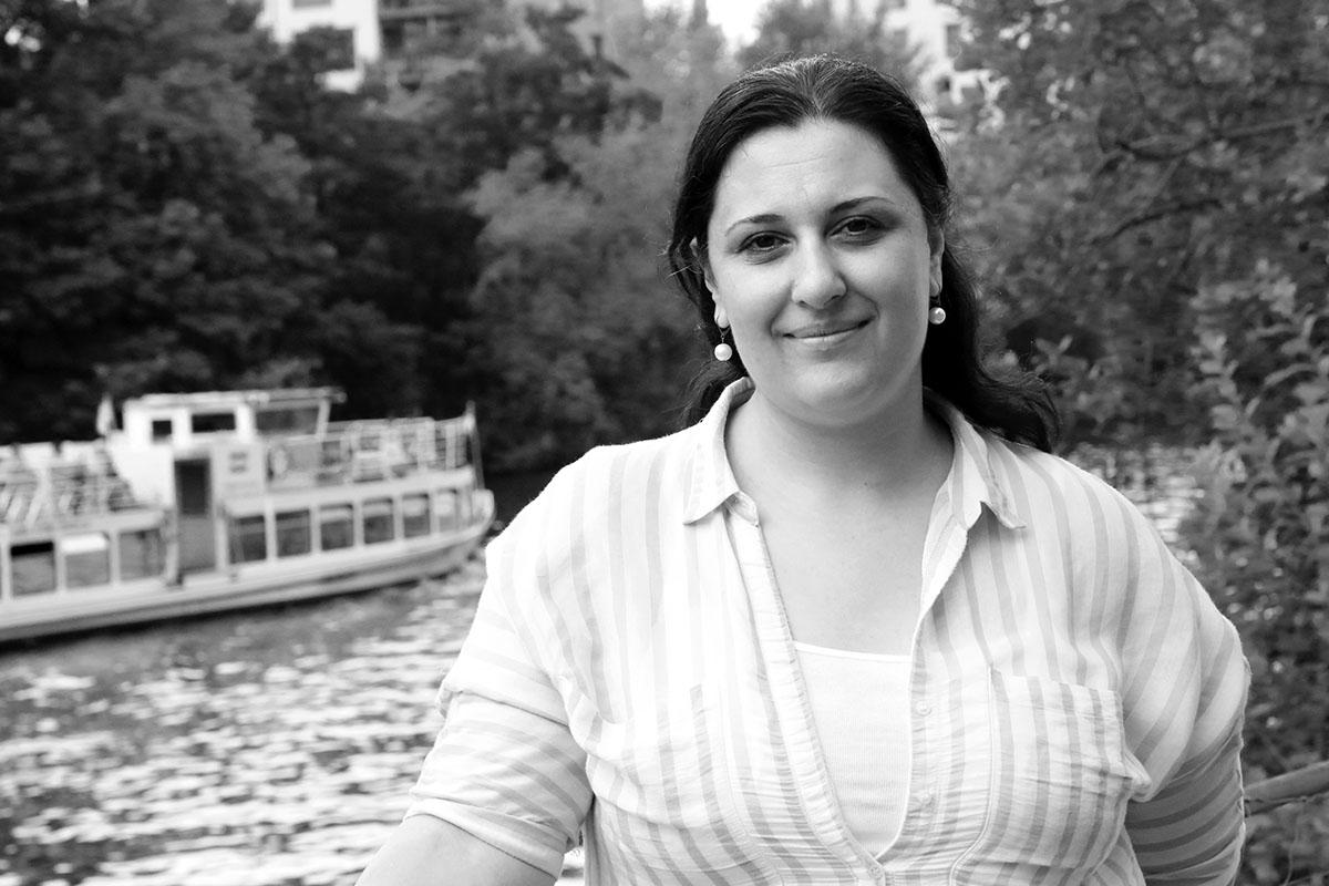 Yasmine Merei stammt aus Homs, heute lebt und arbeitet sie in Berlin. Foto: privat