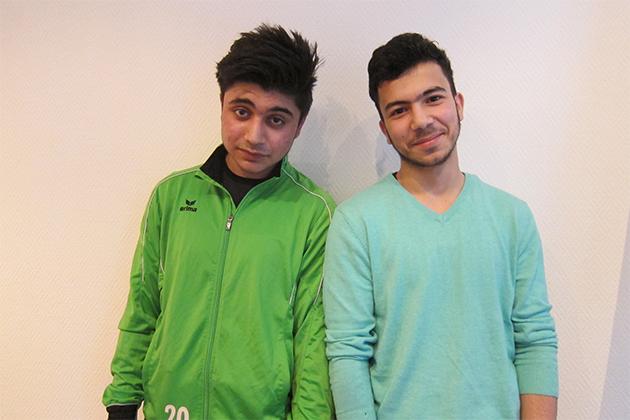 Bild zweier Teilnehmer. Foto: Maritta Iseler