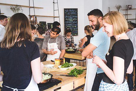 """Das Projekt """"Shades of salad."""" Foto: Über den Tellerrand"""