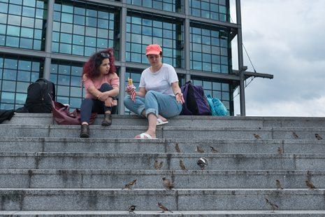 Hiba Obaid und Wala Ezeddin, Berlin, Foto: Inga Alice Lauenroth