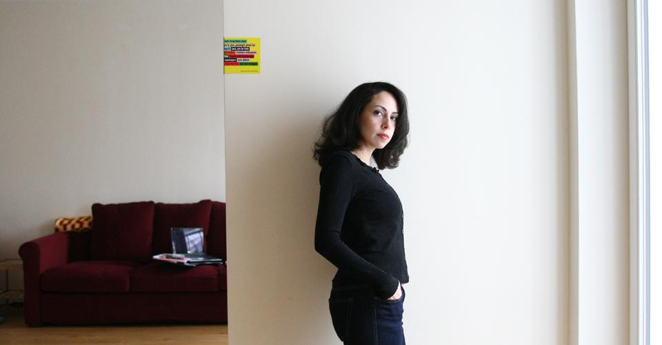Unsere Redakteurin Dima Al Kalaji. Foto: Juliette Moarbes