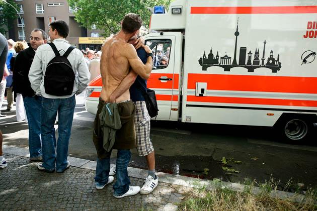 Aus der Bilderserie: Mein Deutsch ist ein bisschen schlecht. Foto: Christian Demarco