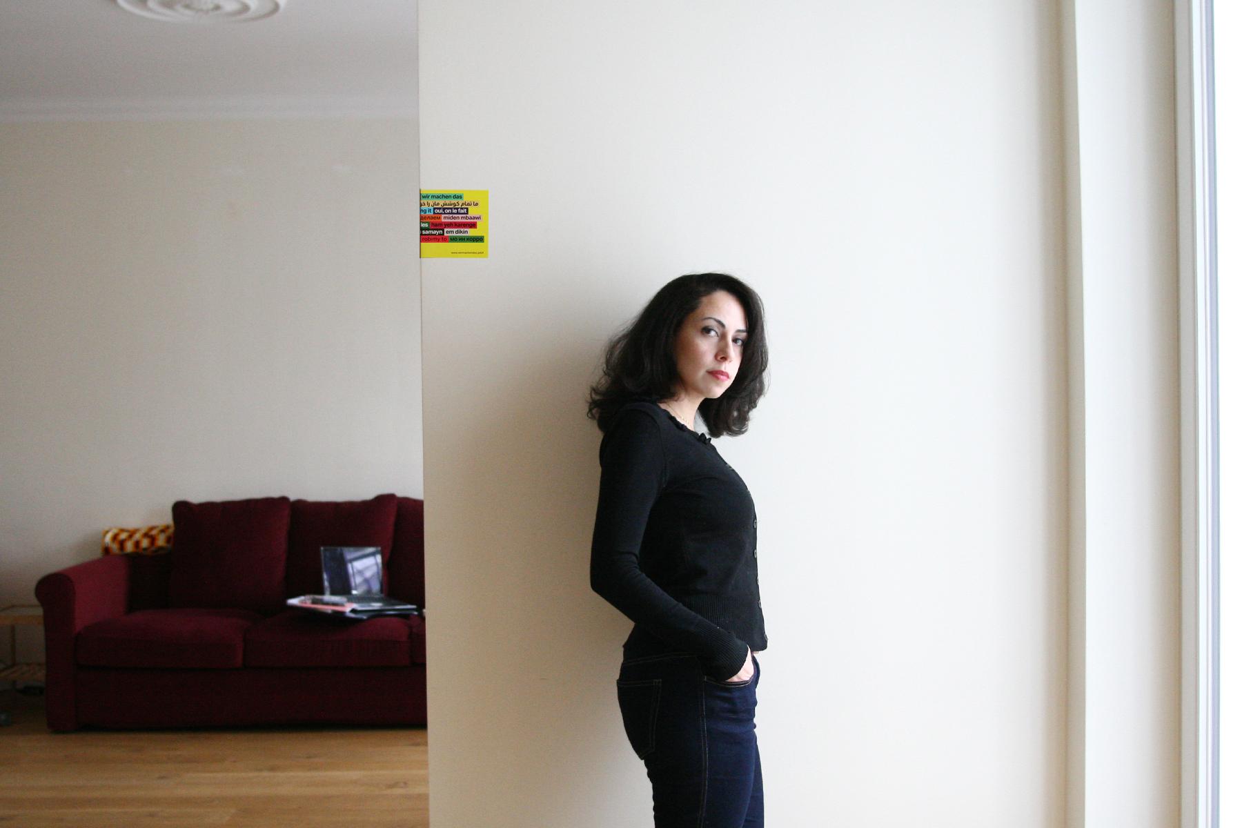 Unsere Redakteurin Dima AlBitar Kalaji. Foto: Juliette Moarbes (2019)