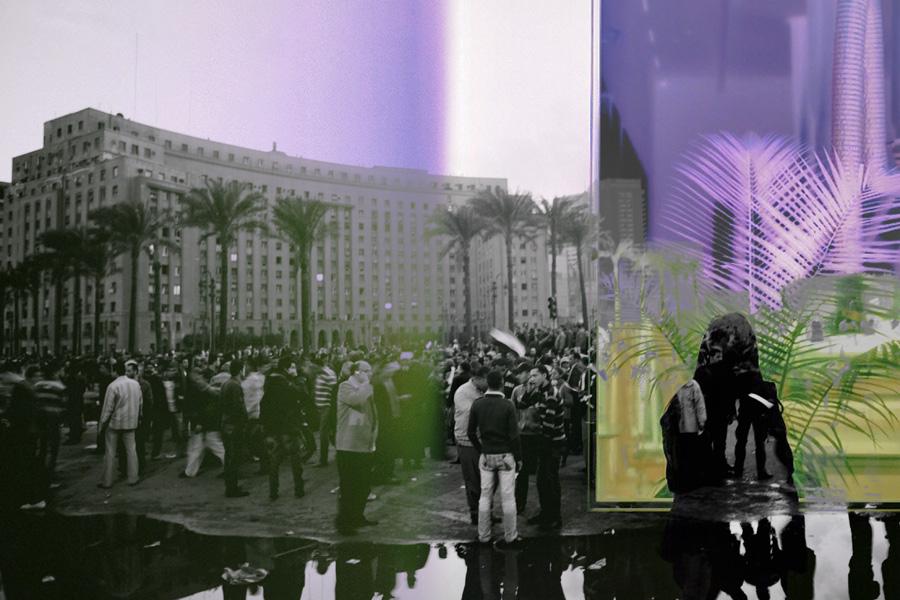 Foto: Hossam el-Hamalawy /Flickr(M) Tahirs Square am 29.Januar 2011