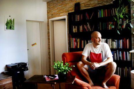 David Häußer(2019). Foto: Juliette Moarbes
