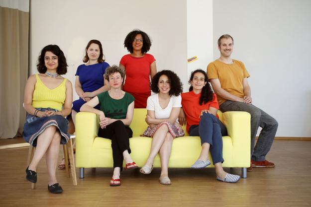 Die WIR MACHEN DAS Redaktion. Foto: Juliette Moarbes
