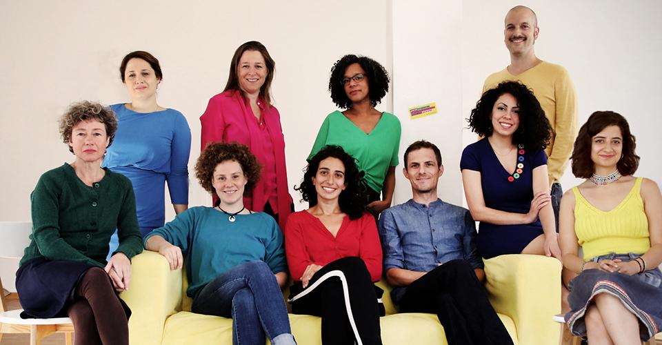 Bild des Wirmachendas-Teams. Foto: Juliette Moarbes