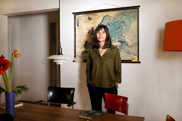 Weiter Schreiben Projektleiterin Christiane Kühl. Foto: Juliette Moarbes (2019)