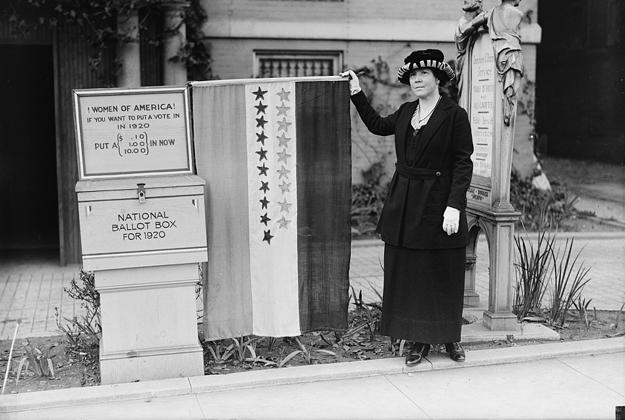 Anspruch auf Repräsentation: Frauen erkämpfen vor 100 Jahren ihr Wahlrecht in den USA. ©Harris & Ewing Collection / Librairy of Congress